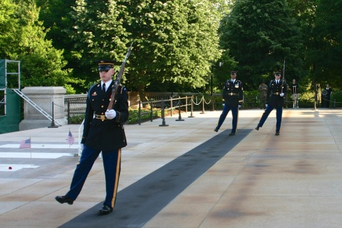 Tomb Of The Unknowns Arlington National Cemetery, 5/26/05