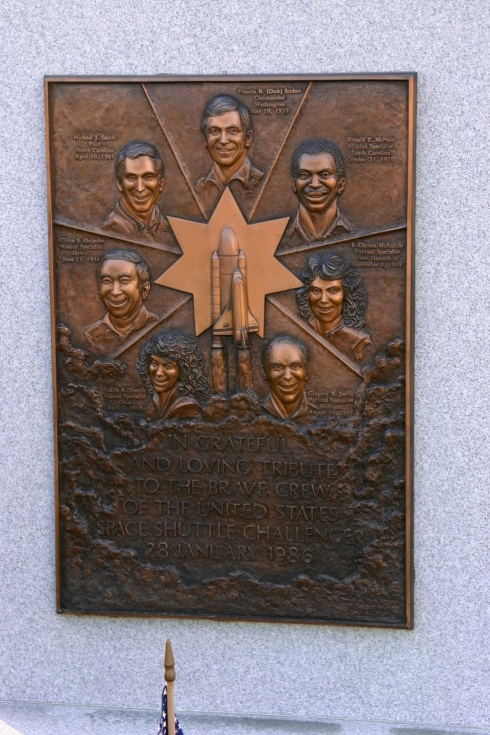 Challenger Memorial Could this look any worse? Arlington National Cemetery, 5/26/05