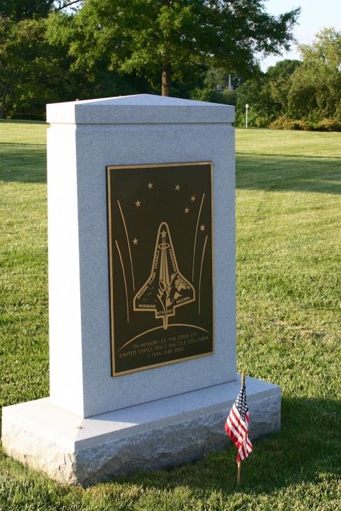 Challenger Memorial Arlington National Cemetery, 5/26/05