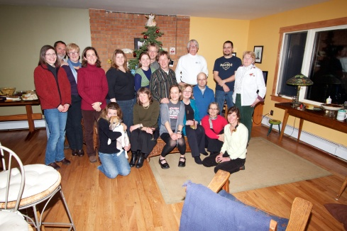 Family & Friends Followers all of the Minor Catastrophes blog Bozeman, MT, 12/12/11