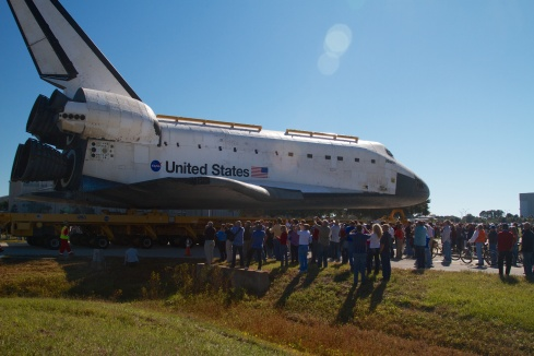 The Kennedy Space Center Tribe Atlantis Final Roll KSC, FL. 11/2/12
