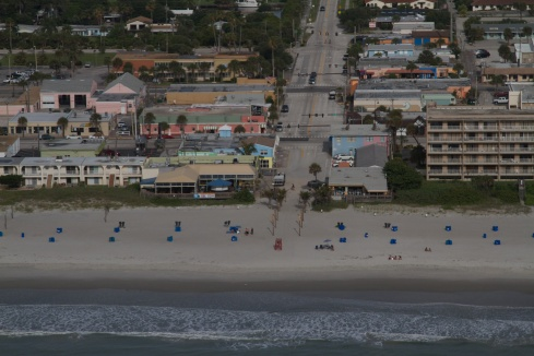 Beach Shack on the right, Coconuts On The Beach on the left 6/8/13