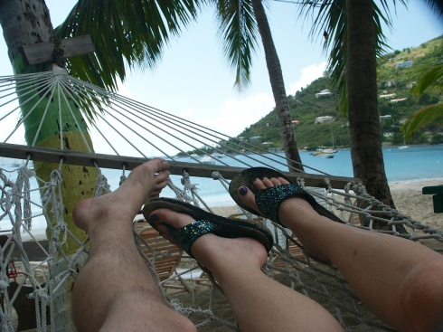 My most important tribe: A Tribe Of Two Cane Garden Bat, BVI, 5/1/04