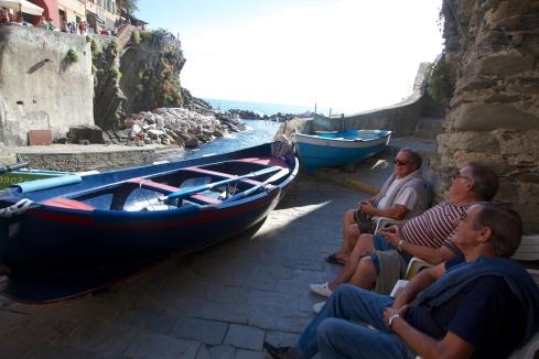 Street Scene Riomaggiore, Italy, 9/13/13