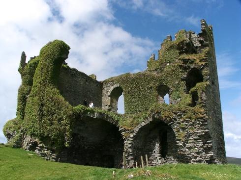 Ballcarberry Castle Ireland, 5/4/03