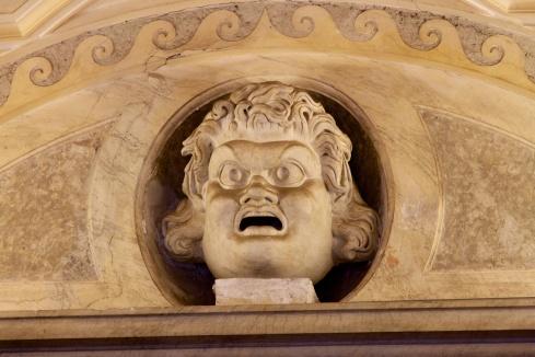 A Face seen at the Vatican Vatican City, 9/9/13