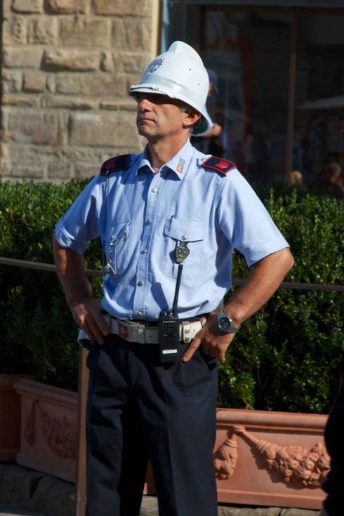 Law Enforcement Florence, Italy, 9/18/13