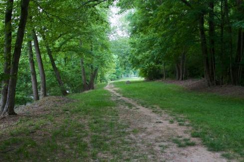 Roanoke Rapids Canal Trail, 5/10/14