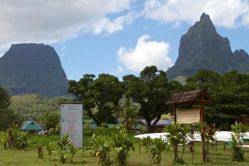 View of the Agricultural Lycee (Agricultural School/Station), Moorea, 9/26/14