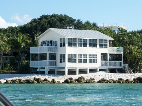 Our house on the beach, 12/24/16, North Captiva Island, FL